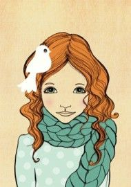 Belle & Boo `Kaart Joy Aqua`