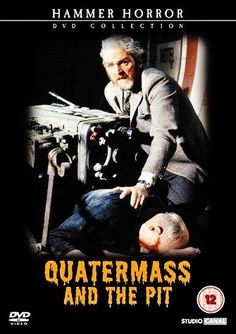 QUATERMASS AND THE PIT aka FIVE MILLION YEARS TO EARTH 1967 dvd cover