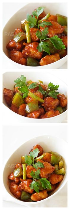 Sweet and Sour Chicken Recipe. The best and easiest sweet and sour chicken recipe that anyone can make at home. Much healthier and better than takeout | http://rasamalaysia.com