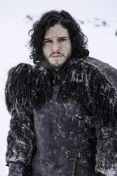Kit Harington as Jon Snow ... @Beth J J Butt I need to like this more than just once ;)