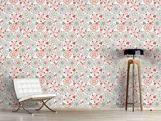 Design #Tapete Blumen Des Glücks