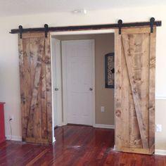 sliding barn doors the sequel, diy, doors, woodworking projects