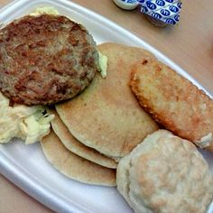 Salt Shockers: Worst Fast-Food Meals for Sodium MD's Big Breakfast with hotcakes mg of sodium and calories. Salt Shockers: Worst Fast-Food Meals for Sodium MD's Big Breakfast with hotcakes mg of sodium and calories. High Sodium, Breakfast Recipes, Breakfast Ideas, Healthy Options, Pork, Nutrition, Meals, Big, Articles
