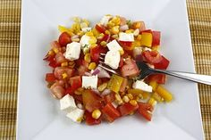 Sweet Corn Salad - try this for all the corn coming in from the garden
