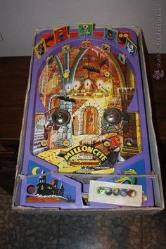 Juguetes antiguos: Milloncete Monstruos Marca Airgam - Foto 2 - 46306958