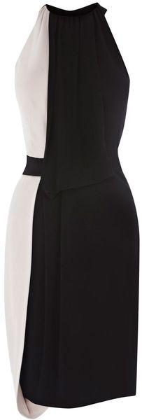 Karen Millen Beautiful Jersey Draping Dress - Lyst