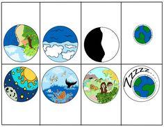 Creation Story Clip Art | Escola Dominical - Aulas 03 a 05 da Classe Princípios do Evangelho