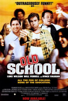 Old School 27x40 Movie Poster (2003)
