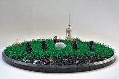 Star Wars Ring Worlds : The Clone Wars - HelloBricks Lego Minifigure Display, Lego Custom Minifigures, Star Wars Minifigures, Star Wars Ring, Star Wars Clone Wars, Lego Star Wars, All Lego, Lego Lego, Lego Clones