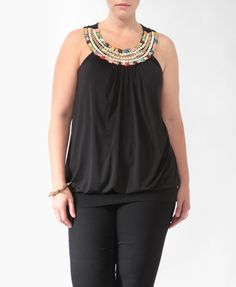 Bejeweled Banded Tank  $22.80