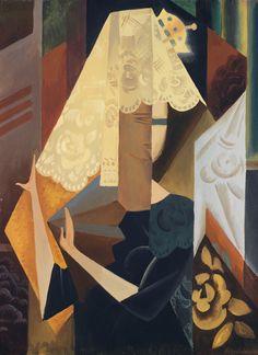 Natalia Goncharova (Russian, 1881-1962), L'Espagnole [The Spanish Woman], c.1918-20. Gouache on paper, 73 x 54 cm.