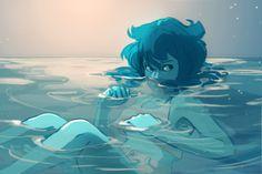 awyadraws:  -draws lapis too much-