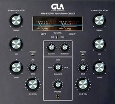 GLA Audio Electronics RPM-2 2 channel rotary mixer currently in development.  Facebook page: www.facebook.com/glaaudioelectronics?fref=ts
