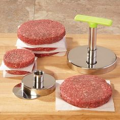 Kitchen gadgets     Burger Stomper Hamburger Press