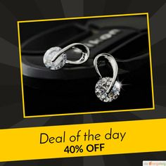 Today Only! 40% OFF this item.  Follow us on Pinterest to be the first to see our exciting Daily Deals. Today's Product: Crystal Wedding Stud Earring Fashion Jewelry Buy now: https://small.bz/AArqTNi #musthave #loveit #instacool #shop #shopping #onlineshopping #instashop #instagood #instafollow #photooftheday #picoftheday #love #OTstores #smallbiz #sale #dailydeal #dealoftheday #todayonly #instadaily