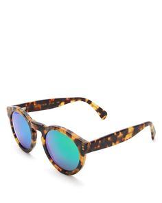 Illesteva Mirrored Leonard Sunglasses