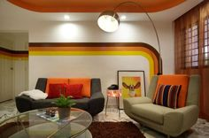 The colorful furniture in living room interior decoration ideas is good idea to get cozy living room. Description from housebeauty.net. I searched for this on bing.com/images