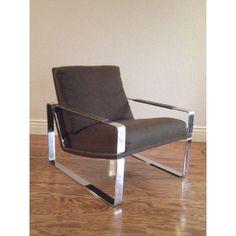 Image of Mid-Century Milo Baughman Lounge Chair
