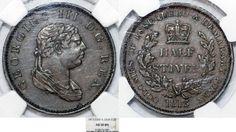 World Coins - British Essequibo & Demerary (modern Guyana). George III…