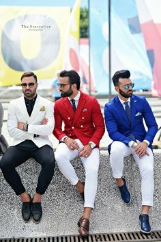 Suit and tie fixation - Pitti Uomo 90 - Day 2 Photo by :. Mens Fashion Blog, Mens Fashion Suits, Mens Suits, Fashion Outfits, Men's Fashion, Fashion Sale, Fashion 2018, Fashion Advice, Paris Fashion