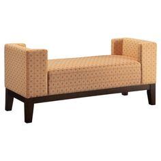 Found it at Wayfair - Upholstered Bedroom Bench in Burnt Orange