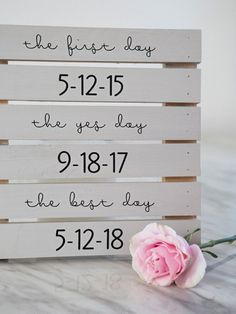 Congratulations: let's help you plan your big day!