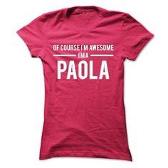 Team Paola - Limited Edition - #tshirt designs #vintage sweatshirts. LOWEST SHIPPING => https://www.sunfrog.com/Names/Team-Paola--Limited-Edition-lggwg-Ladies.html?id=60505