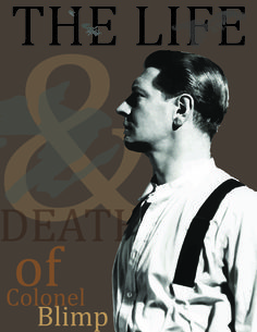 The Life & Death of Colonel Blimp - starring Roger Livesey, Anton Walbrook - Written, Produced, and Directed by Michael Powell and Emeric Pressburger Chestnut Hair, Life And Death, The Life, Anton, Films, Tv, Movie Posters, 2016 Movies