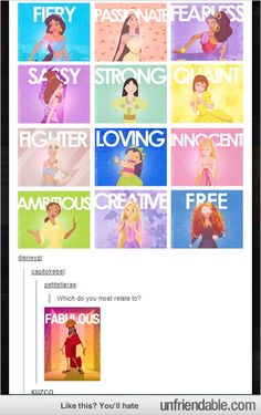 Disney princess do you relate to most? Which Disney princess do you relate to most?Which Disney princess do you relate to most? Kuzco Disney, Disney Pixar, Disney Memes, Disney Quotes, Disney And Dreamworks, Disney Girls, Disney Love, Disney Magic, Disney Characters