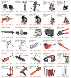 Location Ferrento in Montreal rents tools and equipment you can use for plumbing work.