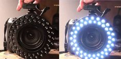 Build a ring light f