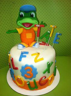 Tates Leapfrog Letter Factory Cake