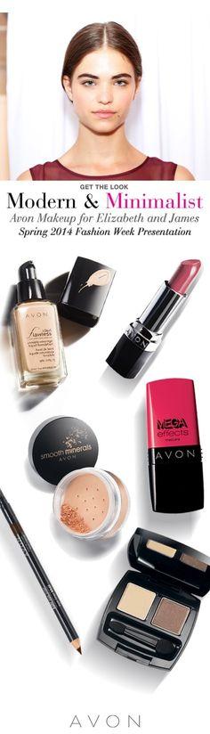 Avon Makeup at Fashion Week NY September 2013