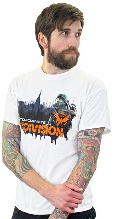 Tom Clancy's The Division Toxic City T-Shirt - Numskull Tom Clancy The Division, Toms, City, Abandoned, Mens Tops, T Shirt, Style, Left Out, Supreme T Shirt