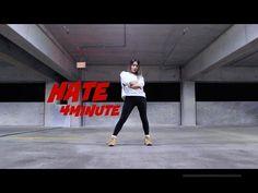 4MINUTE(포미닛) - 싫어(Hate) - Lisa Rhee Dance Cover - YouTube