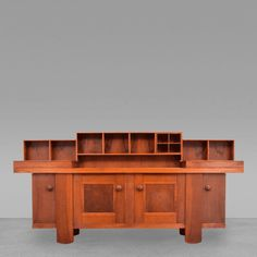 Silvio Coppola Cabinet Server Buffet by Silvio Coppola for Bernini Italy
