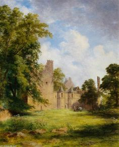 Château Tolquhon - (1) de James William Giles (1801-1870, United Kingdom)