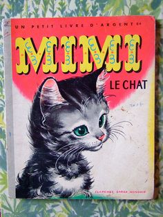 vintage mimi le chat book, illustrations by Florence Sarah Windship