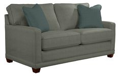 Kennedy 2 Sofa, Couch, Petite Size, Seat Cushions, Mattress, Love Seat, Sleep, Bed, Furniture