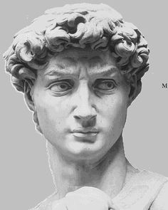 "Famous Painters are of the most common in Italy from Leonardo d Vinci to Michelangelo This is Michelangelo's ""David"" statue Art Memes, Art History Memes, Miguel Angel, Artist Problems, Ap Art, Funny Art, Portrait, Photos, Simple Math"