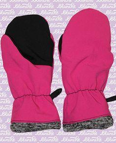 softshellové rukavice dětské