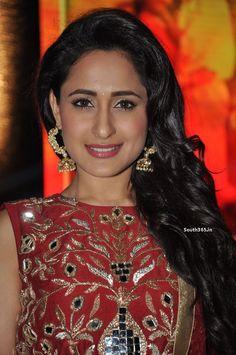 Pragya Jaiswal in Red Dress at Kanche Telugu Movie Audio Launch (35) at Pragya Jaiswal at Kanche Songs Launch  #PragyaJaiswal