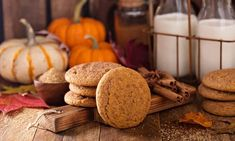Easy Pumpkin Pie, Pumpkin Spice Cookies, Canned Pumpkin, Pumpkin Spice Latte, Pumpkin Recipes, Cookie Recipes, Fall Cookies, Christmas Cookies, Pumpkins