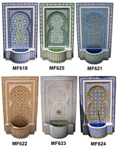 tile fountain diy - Google Search