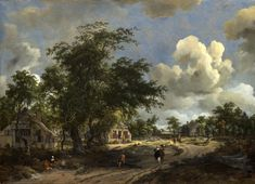 Meindert Hobbema – National Gallery of Art (Andrew W. Mellon Collection) 1937.1.62. A View on a High Road (1665)