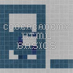 CodeAcademy HTML Basics