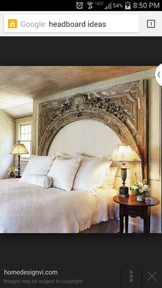 "Think I could carve something like this ""headboard"" from styrofoam?"