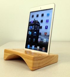 Sounder mini the wooden iPad mini stand / dock that by finkh, $49.00