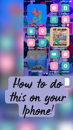 How to do this on your Iphone!