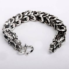 Chinese dragon bracelette by voxlyra